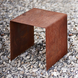 Cubetable | Chair | Side tables | Feuerring