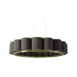 Bibendum Chandelier 18 shades | General lighting | Martin Huxford Studio