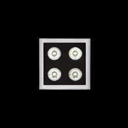 K12 sq Power LED / Narrow beam 10° | Lámparas exteriores de pared | Ares