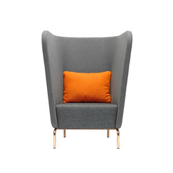 Broes | Armchairs | Red Stitch