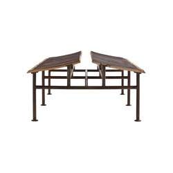 Chinese Roof | Waiting area benches | SanPatrignano