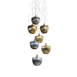 Pod Cascade Chandelier | General lighting | Martin Huxford Studio