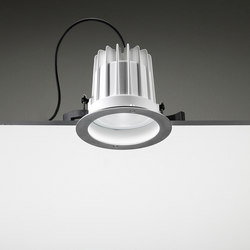 Leila 165 CoB LED 230V / Stainless Steel Frame - Wide Beam 50° | Fluter | Ares