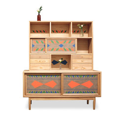 Dean Credenza with Storage Unit | Buffets | VOLK
