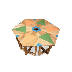 Dean Geometric Tables | Tavolini salotto | VOLK