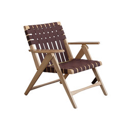 Folding Lounge Chair Oak | Armchairs | Todd St. John