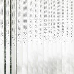 LASER PUNTO V - 0 | Rideaux à bandes verticales | Création Baumann