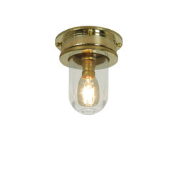 7202 Miniature Ship's Companionway, Polished Brass, Clear Glass | Éclairage général | Davey Lighting Limited
