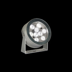 MaxiMartina Power LED / Transparent Glass - Adjustable - Medium Beam 30° | Outdoor wall lights | Ares