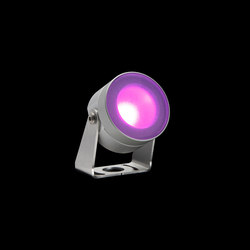 MiniMartina Aqua RGB Power LED / Inox 316L Underwater - Sandblasted Glass - Adjustable | Außen Wandanbauleuchten | Ares
