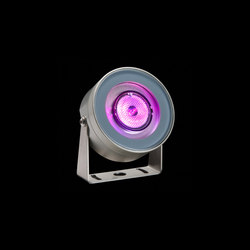 Martina Aqua RGB Power LED / Inox 316L Underwater - Transparent Glass - Adjustable - Medium Beam 35° | Outdoor wall lights | Ares