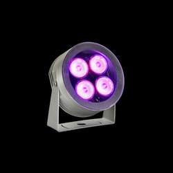 MaxiMartina Aqua RGB Power LED / Inox 316L Underwater - Transparent Glass - Adjustable - Medium Beam 35° | General lighting | Ares