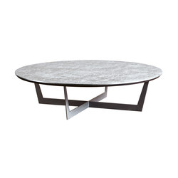Iron Tavolino Cross Tondo | Lounge tables | SanPatrignano
