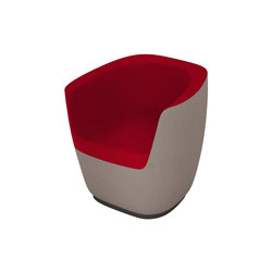 Seating Stones Tub Chair | Loungesessel | Walter K.