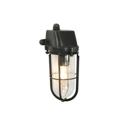 7401 Weatherproof Ship's Well Glass, Weathered Brass, Clear Glass E27 | General lighting | Davey Lighting Limited
