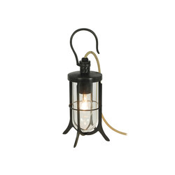 7521 Ship's Hook Light, Clear Glass, Weathered Brass | Iluminación general | Davey Lighting Limited