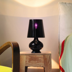 Fontana Total Black Table lamp small | Table lights | FontanaArte