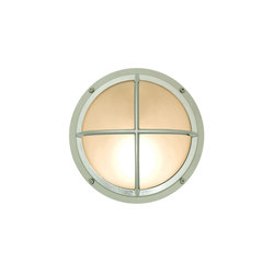 7226 Brass Bulkhead With Cross Guard, Chrome Plated | Allgemeinbeleuchtung | Davey Lighting Limited