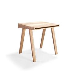 4.9 Writing Desk, 1 drawer, Lithuanian Ash | Escritorios | EMKO