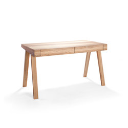 4.9 - 2 Drawers Lithuanian Ash | Desks | EMKO