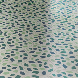 Grit Blue | Concrete/cement floor tiles | Bisazza