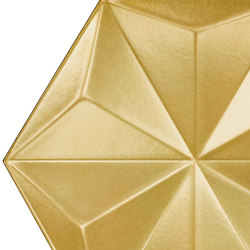 Gold Frozen Crystal | Ceramic tiles | Bisazza