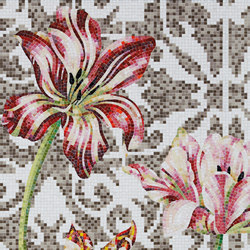 Grey Tulips | Mosaici | Bisazza