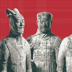 Xi'an | Mosaïques verre | Bisazza