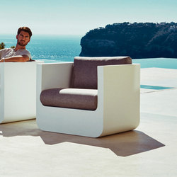Ulm Lounge Chair | Garden armchairs | Vondom