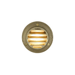 7567 Step or Path Light LED, Brass | General lighting | Davey Lighting Limited