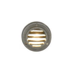 7567 Step or Path Light LED, Weathered Brass | General lighting | Davey Lighting Limited