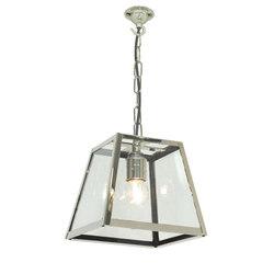 7636 Quad Pendant Internally Glazed, Small, Satin Nickel, Clear Glass | Iluminación general | Davey Lighting Limited