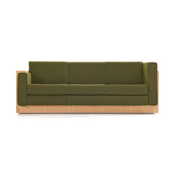 Alpha Seating Three-seater sofa | Lounge sofas | Neutra by VS