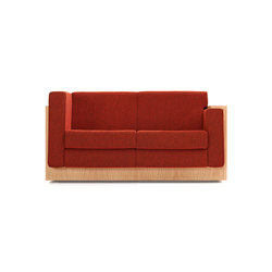 Alpha Seating Two-Seater sofa | Lounge sofas | Neutra by VS