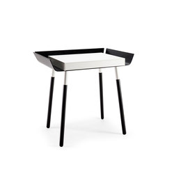 My Writing Desk, 1 drawer, black-white | Desks | EMKO