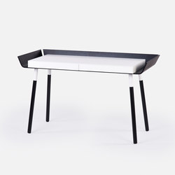 My Writing Desk Large Black | Desks | EMKO