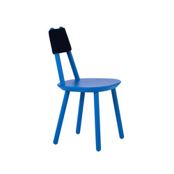 Naive Chair Blue | Chaises de restaurant | EMKO