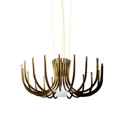 Stardust small | Ceiling suspended chandeliers | Contardi Lighting