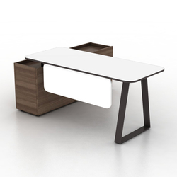 Coach Single office desk | Desks | Ergolain