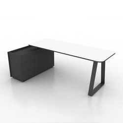 Coach Single office desk | Individual desks | Ergolain
