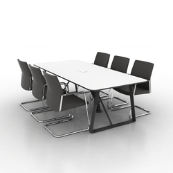 Coach Conference table | Tables de conférence | Ergolain