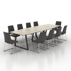 Coach Conference table | Contract tables | Ergolain