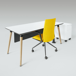 Scando Single office desk | Bureaux individuels | Ergolain