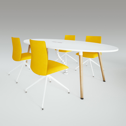 Scando Oval conference tabale | Contract tables | Ergolain