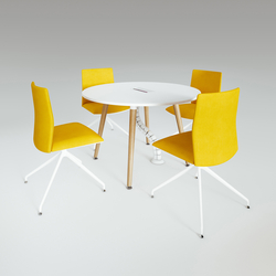 Scando Round conference table | Mesas de reuniones | Ergolain