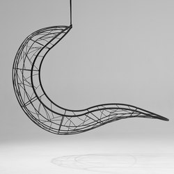 Single Recliner hanging swing chair | Balancelles | Studio Stirling