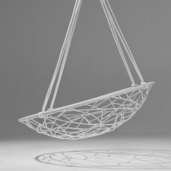 Basket Twig hanging swing chair | Garden chairs | Studio Stirling