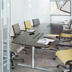 CN Series Conference table | Mesas de conferencia multimedia | ophelis