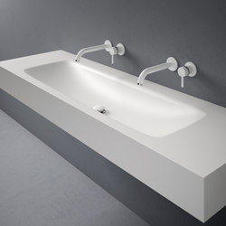 D5 Corian® Washbasin Countertop | Wash basins | Inbani