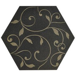 Ornamenti Terra Nera Damasco Gold | Floor tiles | Valmori Ceramica Design